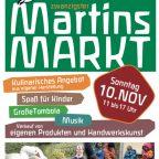 20. Martinsmarkt beim Camphill in Sellen